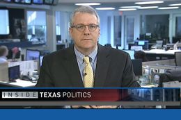 "Tribune executive Editor Ross Ramsey on WFAA's ""Inside Texas Politics"" on Feb. 1, 2015."