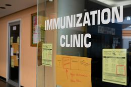 The Immunization Collaboration of Tarrant County in Fort Worth.