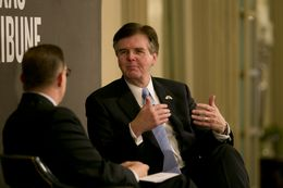 Lt. Gov. Dan Patrick during a June 4, 2015 Tribune Conversation