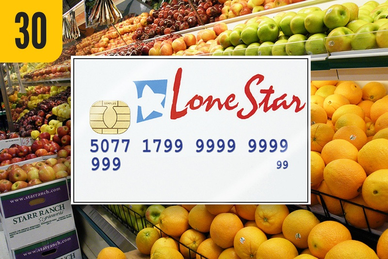 New Food Stamp Law In Texas