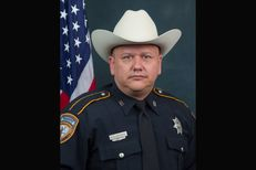 Harris County Deputy Darren Goforth, 47, was shot to death at a Houston gas station late Friday night.