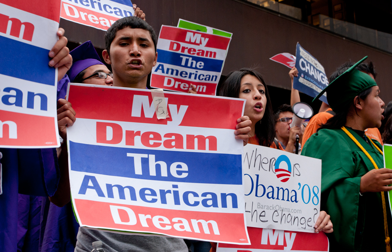 Controversy over the Dream Act