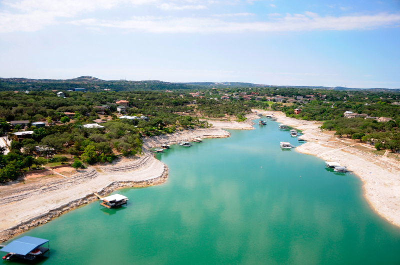 Levels In Texas Highland Lakes Falling Lcra Warns The