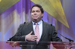 Blake Farenthold speaks at the Republican Convention in Dallas on June 12, 2010.