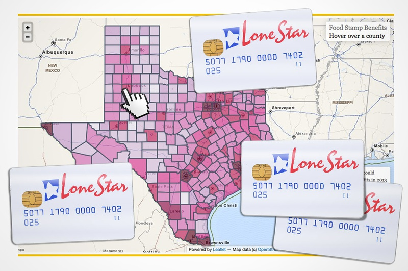 Texas Food Stamps Office Locations