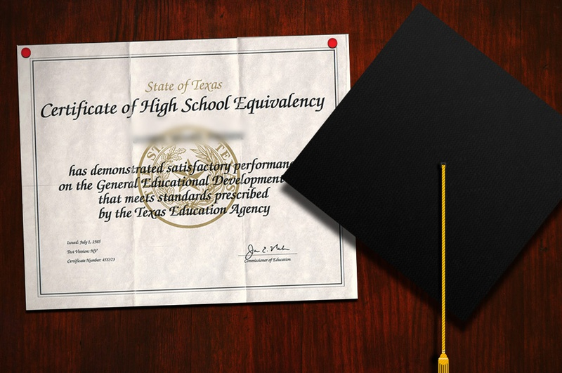 what is a high school diploma called on a resume college