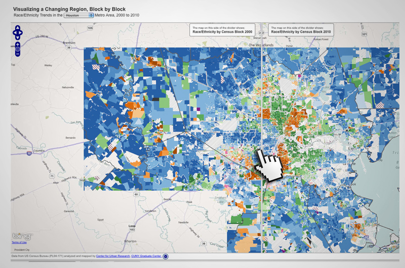 On the Records An Interactive Map of