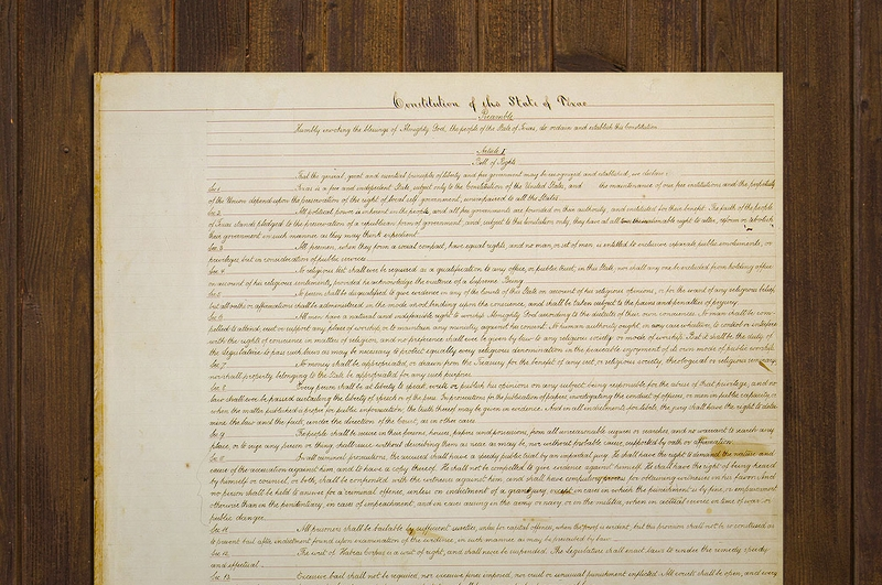 Texplainer: Why is the Texas Constitution So Long? | The ...