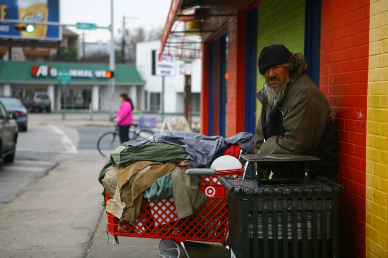 Unusually Cold Winter Takes a Toll on Homeless Texans ...