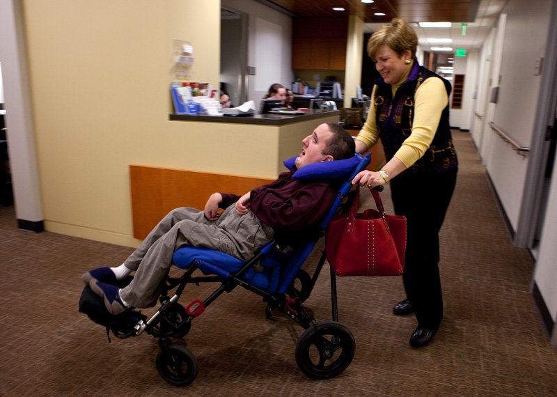 As Disabled Children Become Adults Care Changes The