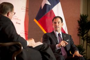 On 4/15 I talked about immigration, health care, Congressional gridlock, 2016 and more with U.S. Sen. Marco Rubio, R-Florida, at an event in San Antonio co-presented by several of that city's chambers of commerce.