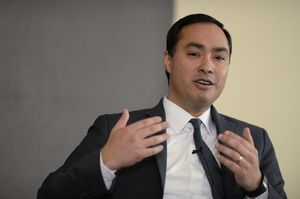 At our 2/19 conversation, U.S. Rep. Joaquin Castro, D-San Antonio, talked about the 2016 presidential race — and whether his brother might be on a Democratic ticket.
