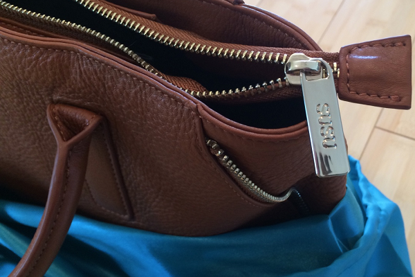 Unboxing the Allen Cognac Leather Tote from SUSU Handbags