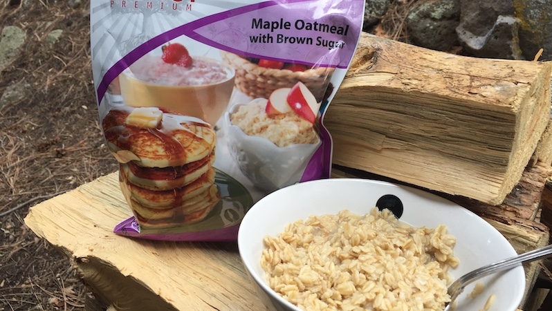 Legacy Food Maple Oatmeal and Brown Sugar recipe