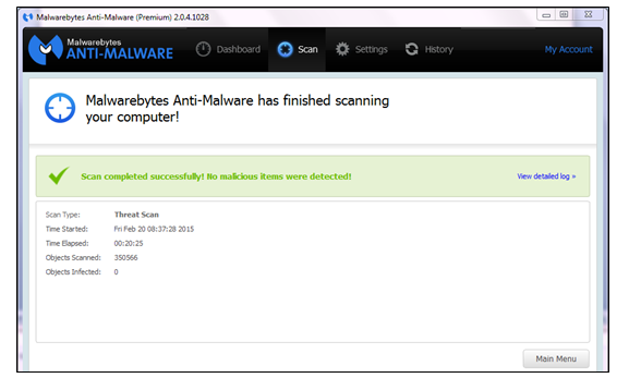 what is the latest version of malwarebytes for business