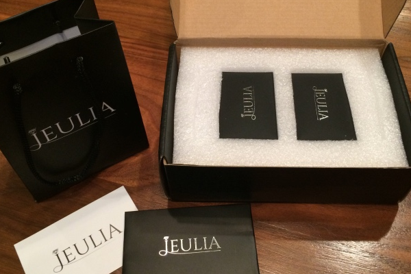 Unboxing Black Diamond and Silver Bridal Ring Sets from Jeulia