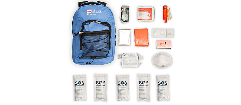 Blue Coolers emergency kit