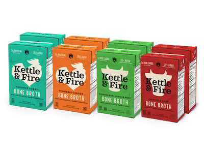 Kettle & Fire 8-pack of cartons