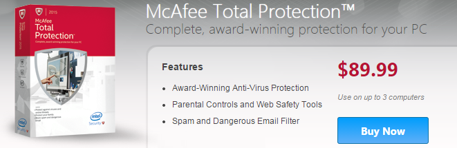 McAfee Total Protection Review - The BuyersGuide org Blog