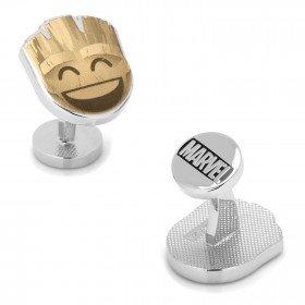 Groot Emoji Cufflink