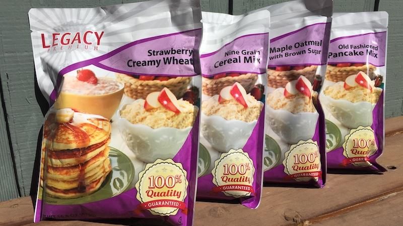 Legacy Premium breakfast foods