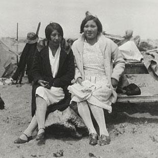 Two Yurok girls