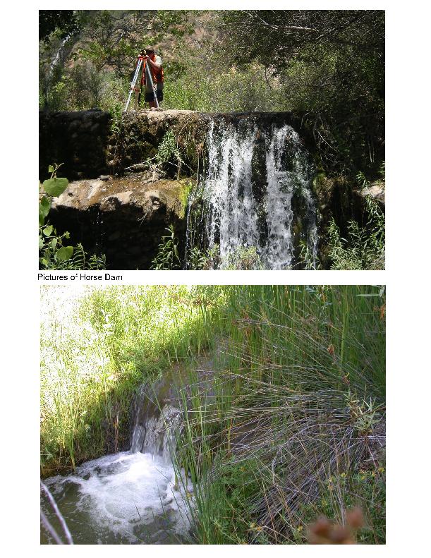 Images of Horse Creek Dam