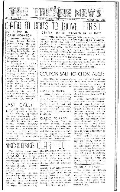 Tulare News, Vol. 1 No. 29