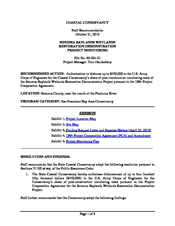 Calisphere Staff Recommendation October 21 2010 Sonoma Baylands
