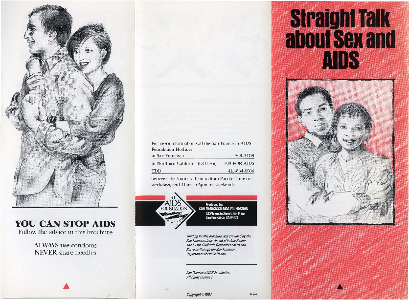 Calisphere: Straight Talk about Sex and AIDS pamphlet [2]