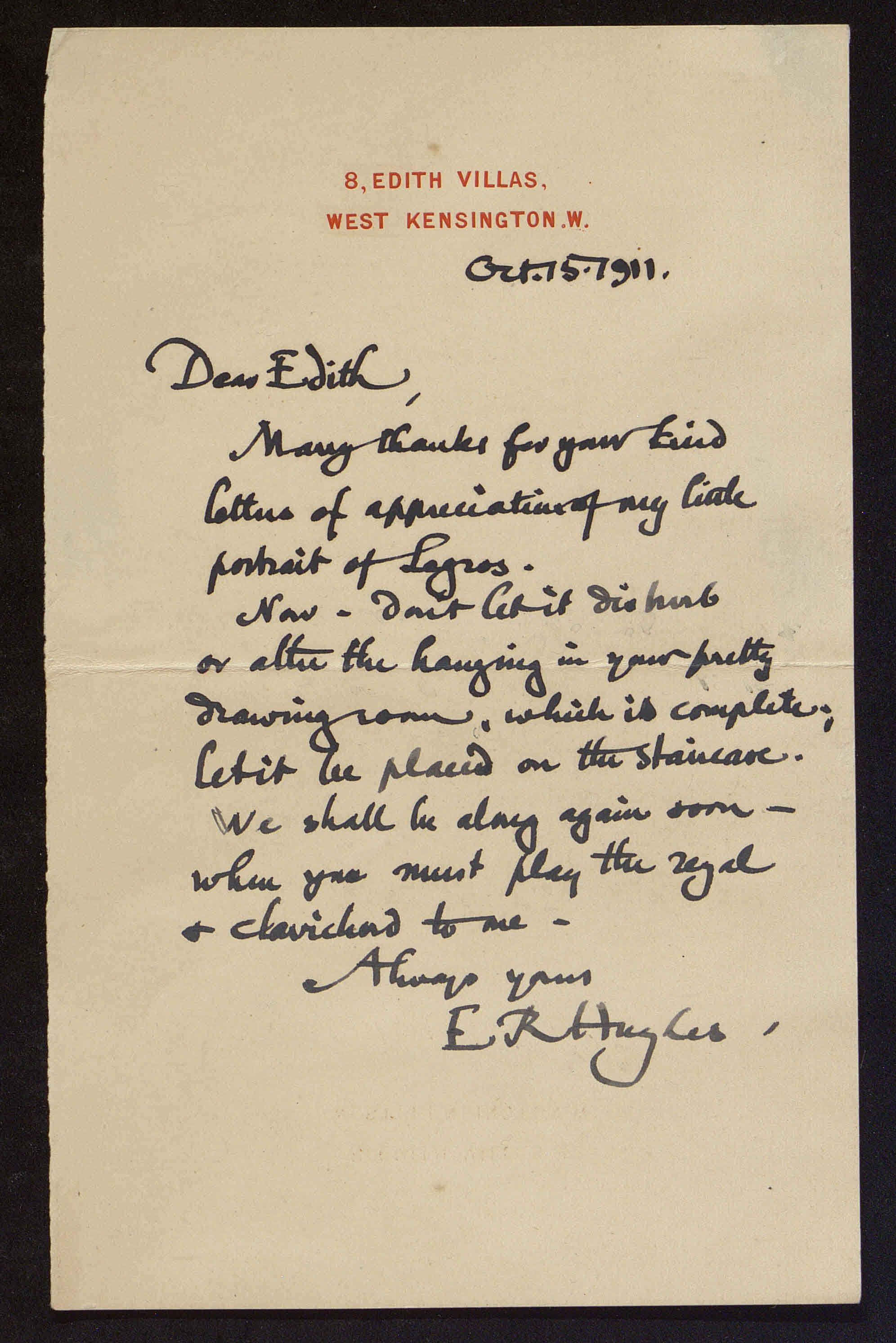 Edward Robert (E. R.) Hughes