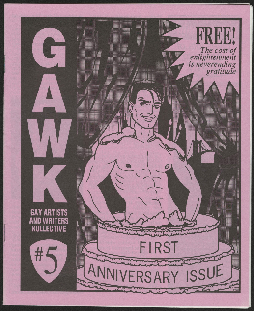 GAWK Newsletter (Gay Artists and Writers Kollective), #4-6
