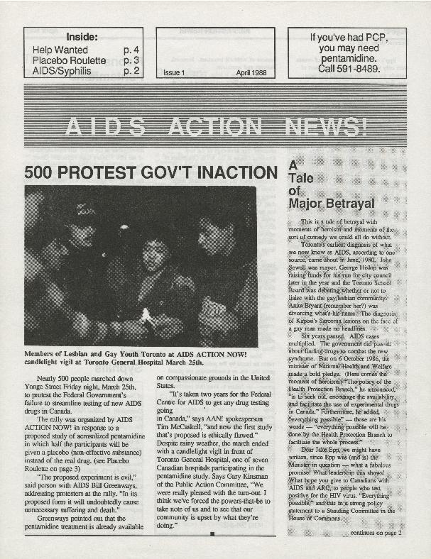 AIDS Action News (Toronto)