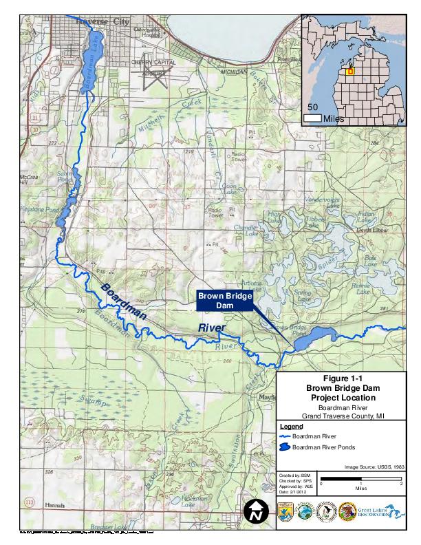 Draft Brown Bridge Dam Removal Environmental Assessment