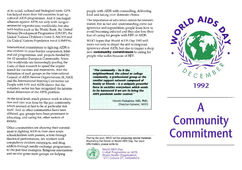 Programs: Legislative Activities: National AIDS Lobby Day