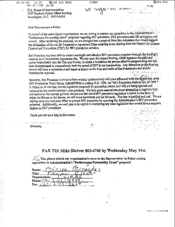 Correspondence: President Ronald Regan (draft)