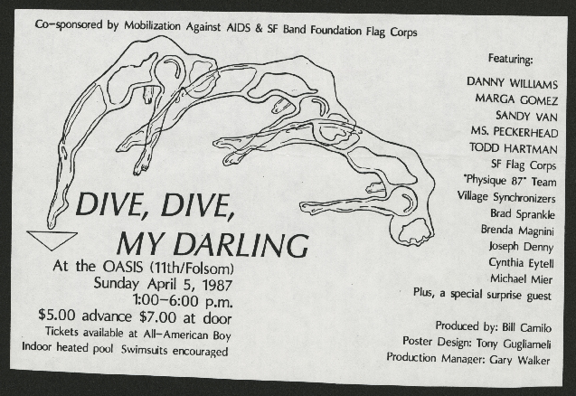 Media and Publicity: Flyers: 1987
