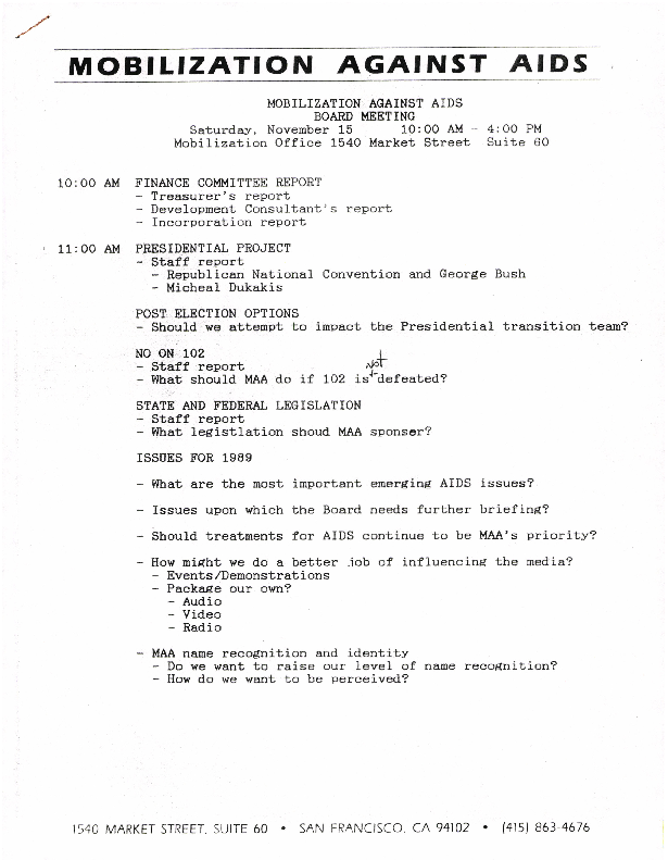 Steering Committee - Notes and Minutes
