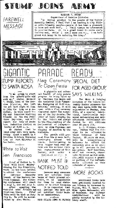 Tulare News, Vol. 1 No. 15