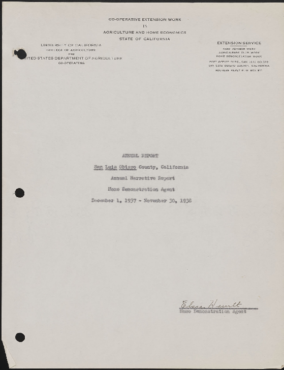 1938 Annual Report