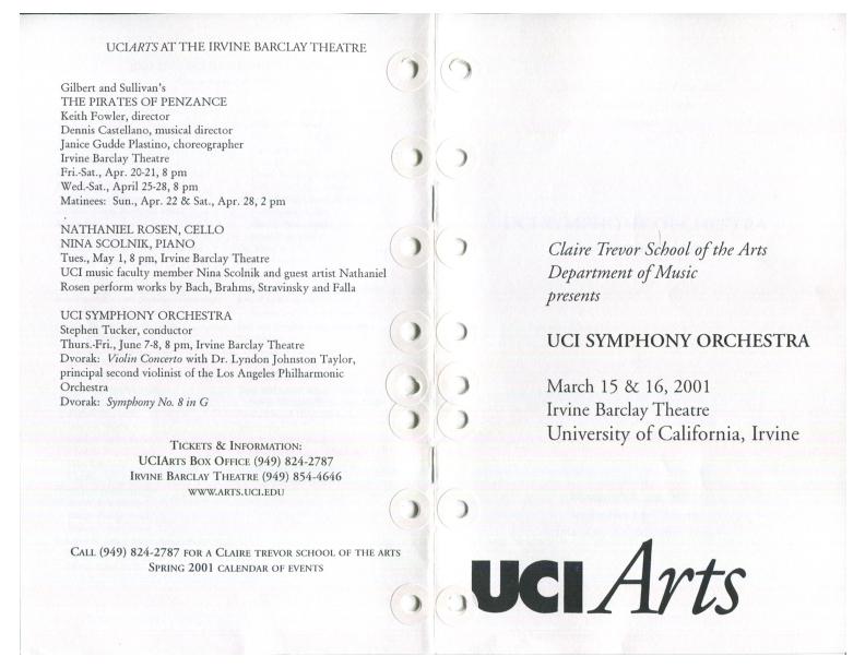 Calisphere: 2001_0316_UCI_Symphony : Peer Gynt Suite No  1