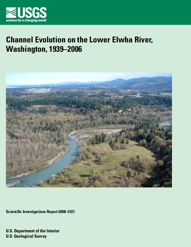Channel Evolution on the Lower Elwha River, Washington, 1939-2006