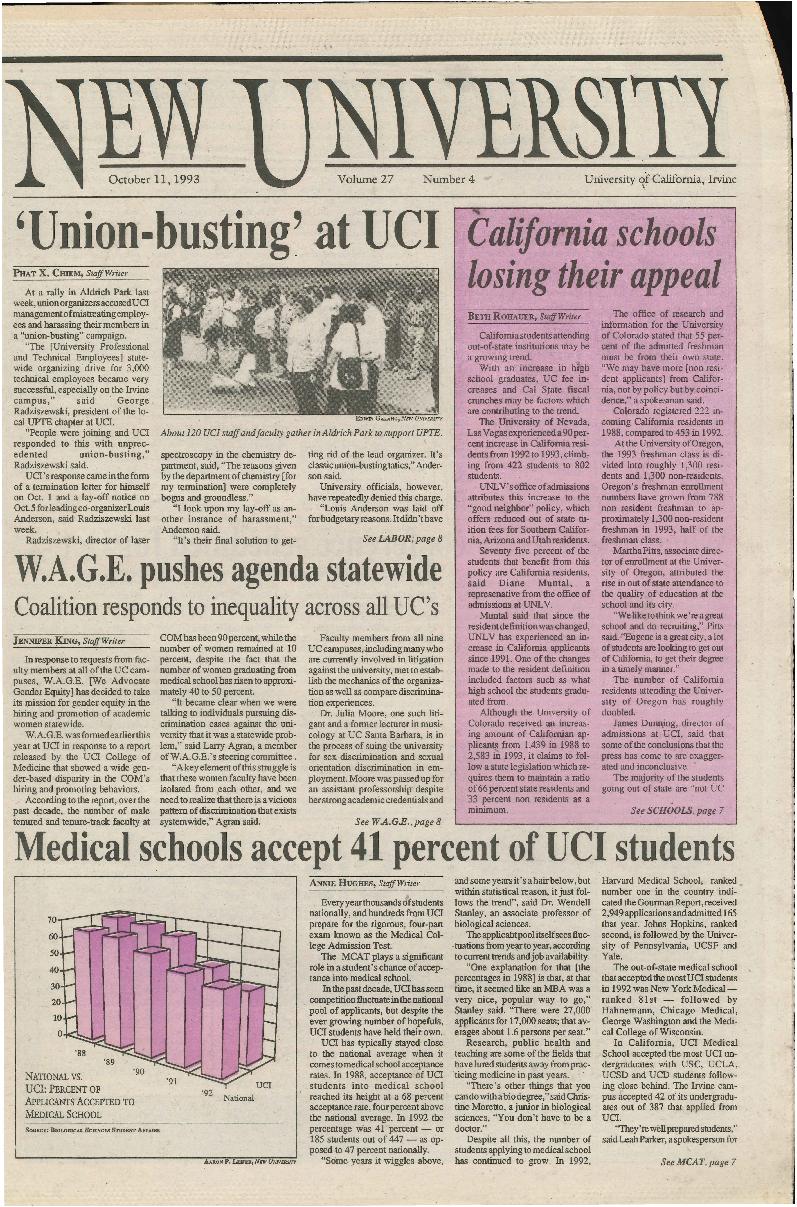 New University (Irvine, Calif.), Vol. 27, No. 04