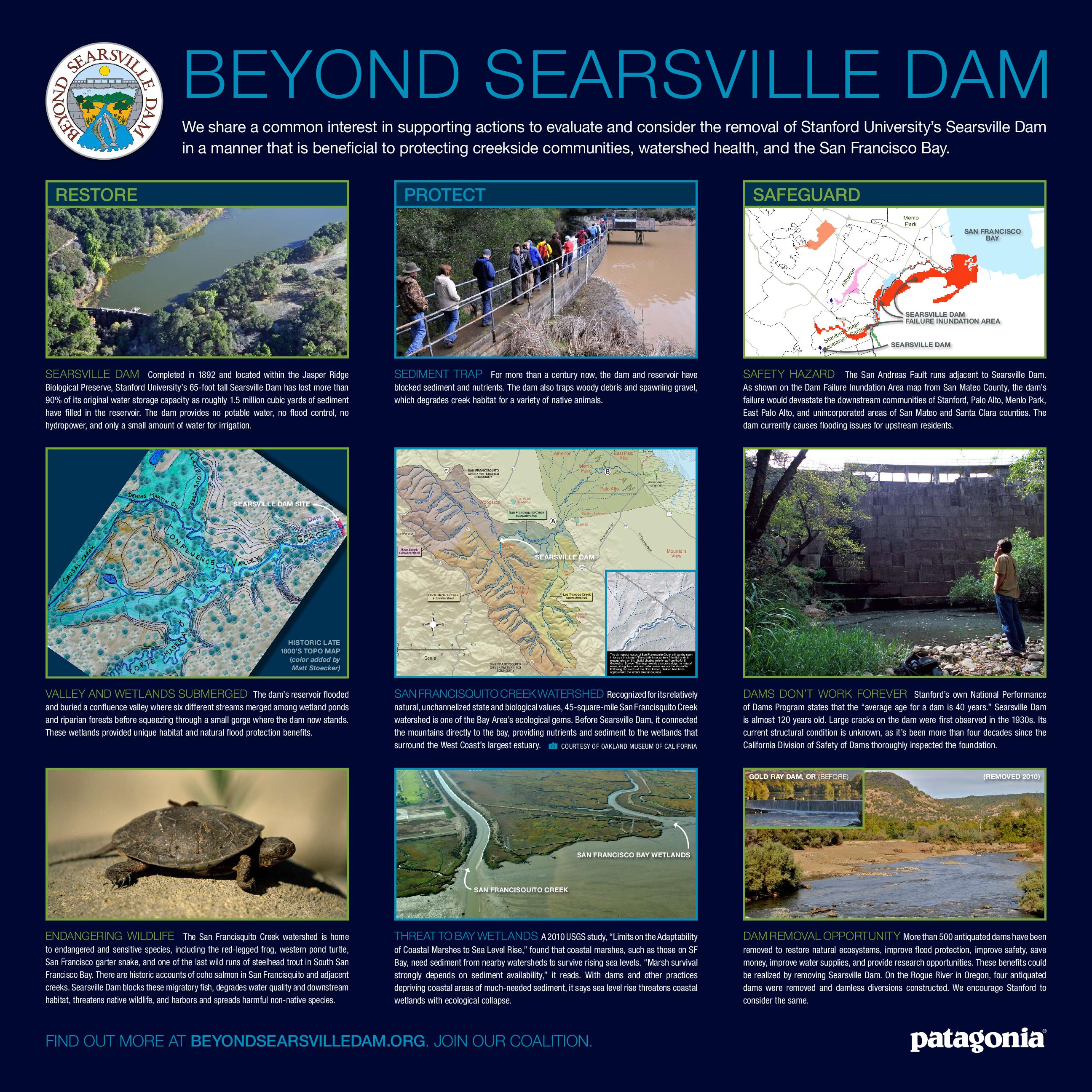 Beyond Searsville Dam poster