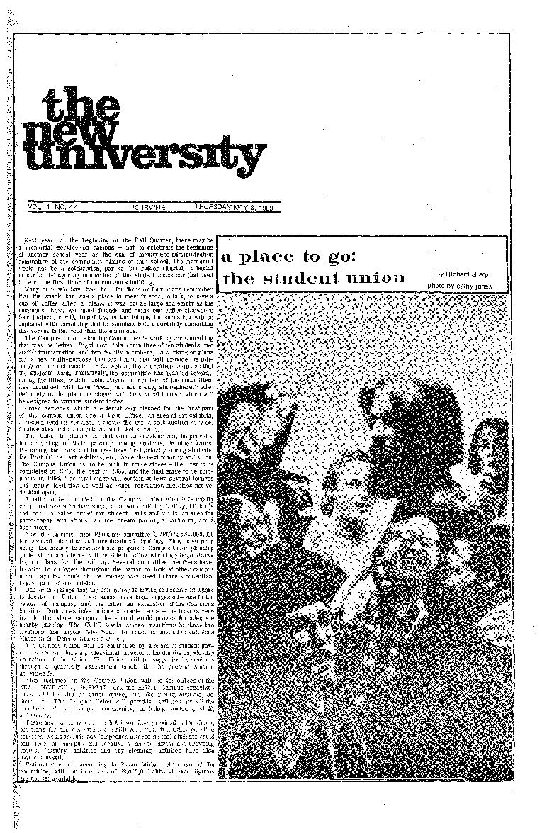 New university (Irvine, Calif.) Vol. 01, No. 47