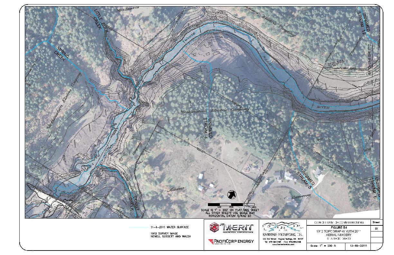 90-day Post-Breach Preliminary Sediment Behavior Report-Condit Dam Removal, Appendix B- Aerial Photography Sheets B1-B6