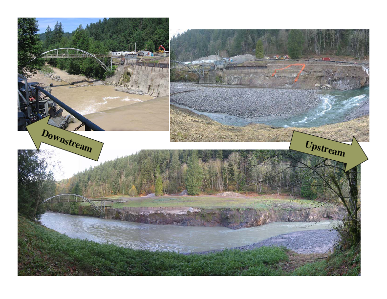 Time Series of Photographs at the Marmot Dam Site
