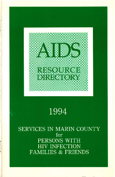 Marin County  Department of Health Services