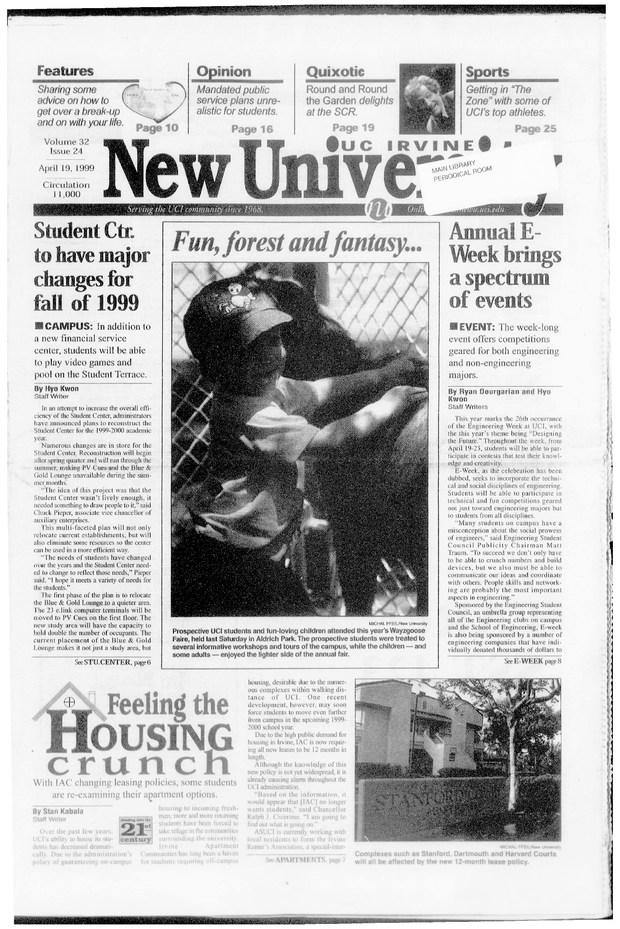 New University (Irvine, Calif.), Vol. 32, No. 24