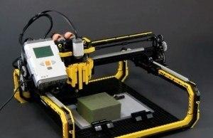 Lego CNC Machine